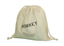 Cotton dustbags with custom logo