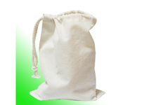 household essential natural color cotton laundry bag