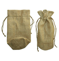 Round bottom Burlap bag