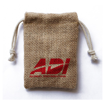 Burlap bag for promotion